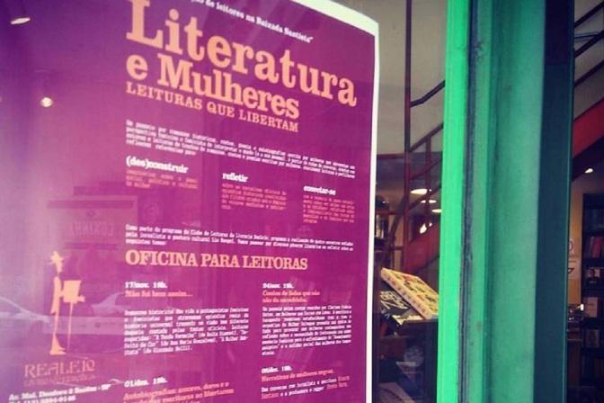 Ciclo 'Literatura e Mulheres' às quintas-feiras na Realejo Livros