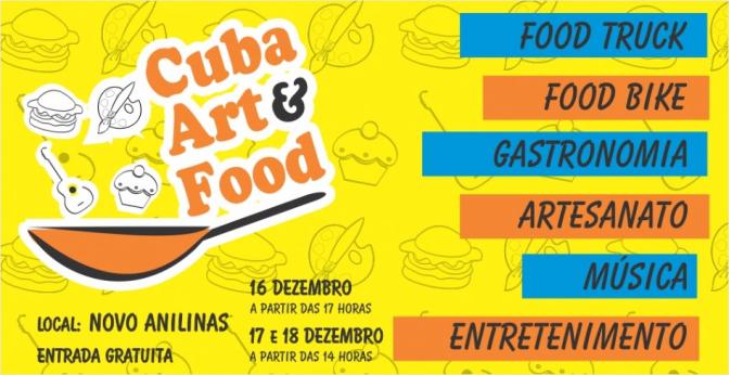 I Cuba Art & Food acontece nos dias 16, 17 e 18 no Novo Anilinas