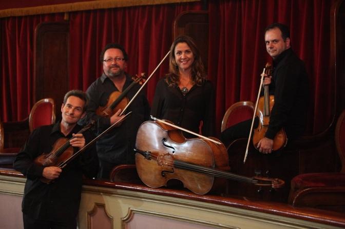 Quarteto de Cordas encerra temporada com concerto no Guarany