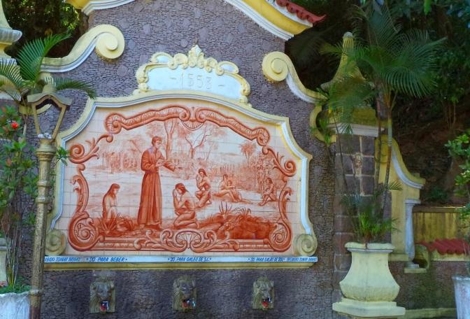 Padre José de Anchieta é personagem em esquetes teatrais na Biquinha