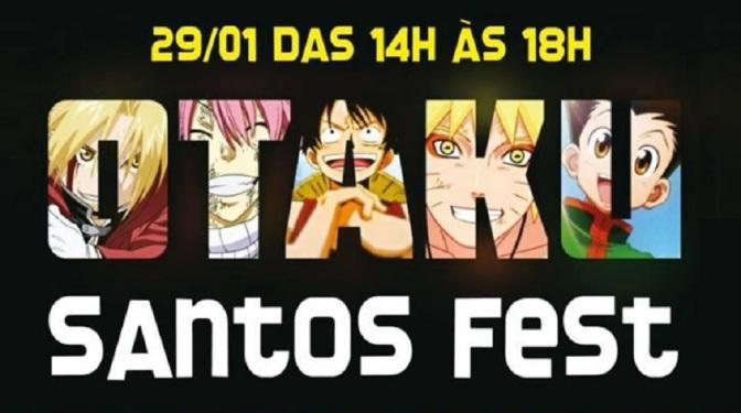 Otaku Santos Fest reúne fãs do universo Geek na Gibiteca