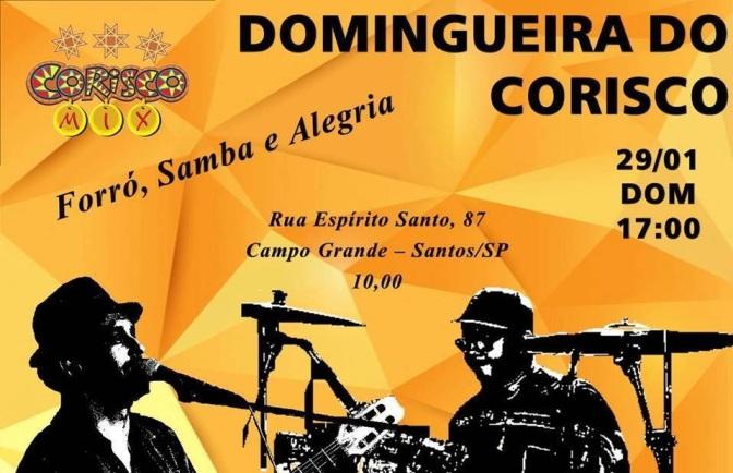 Danilo Nunes e Anderson KB no Corisco Mix neste domingo