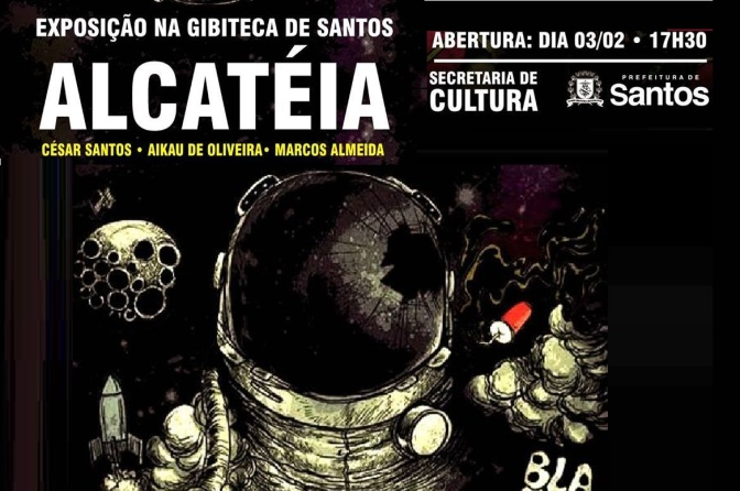 Exposição da Alcatéia a partir desta sexta na Gibiteca de Santos