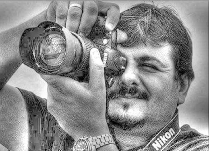 Marcus Cabaleiro expõe 'Aquarela Santista' no Bar Casa Velha