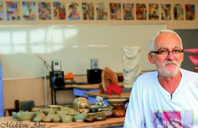 Perfilado em crowdfunding, Elver Savietto faz palestra virtual sobre cerâmica dia 12