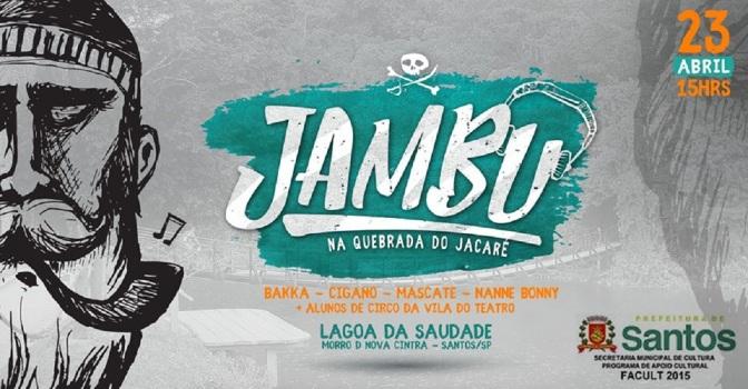 Morro Nova Cintra recebe intervenção artística Jambu, pelo 5º Facult