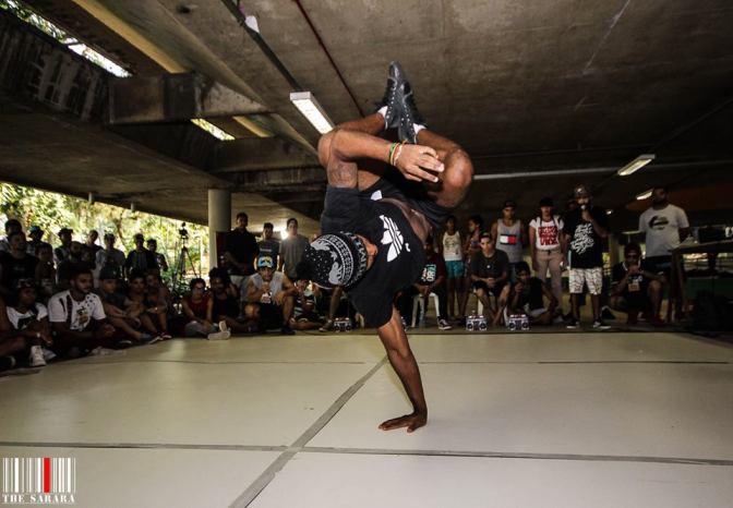 Roda de Break Dance agita Centro de Cultura Patrícia Galvão