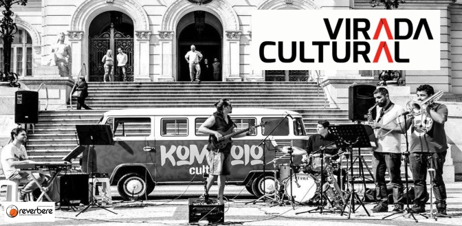 Komboio Cultural se apresenta na Virada Cultural Paulistana