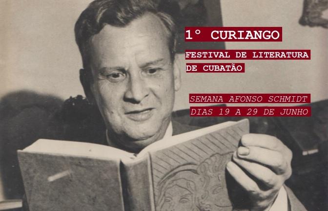 Confira a programação do 1º Curiango – Festival de Literatura de Cubatão