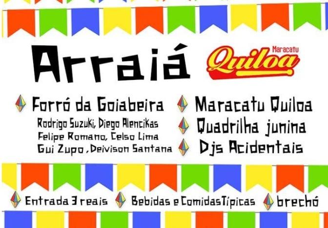 Na Sede Porto, Maracatu Quiloa faz o seu Arraiá