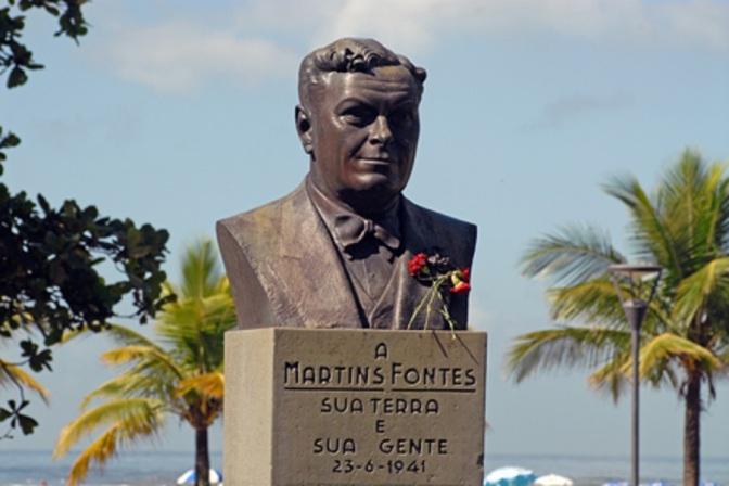 Martins Fontes é o homenageado no Sarau Um Autor na Ciranda Poética