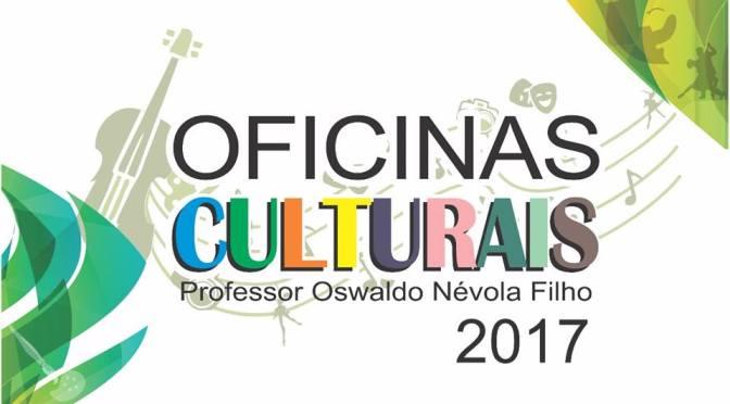 Em 2 dias, mais de 300 inscritos nas Oficinas Culturais de SV; veja vagas abertas