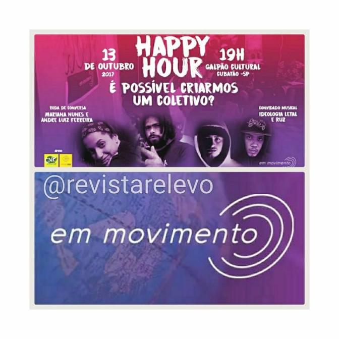 Happy Hour no Galpão dia 13/10