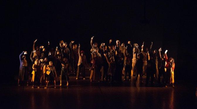 'A Terra pode ser chamada de Chão' em cartaz no Teatro Braz Cubas