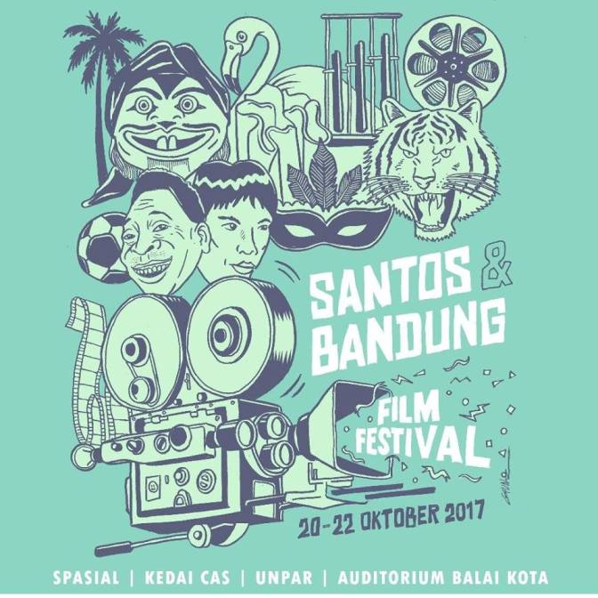 Santos recebe produções do 'Bandung Film Festival'
