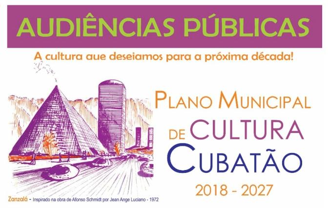 Audiências públicas discutem propostas para Plano Municipal de Cultura