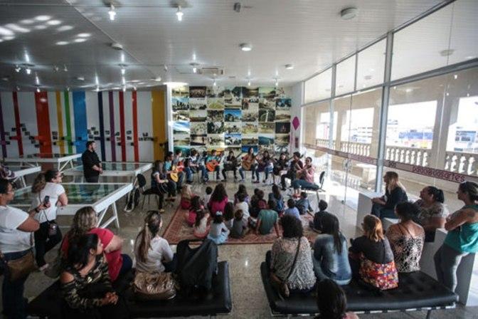 Palácio das Artes tem atividades gratuitas para os pequenos. Praia Grande.