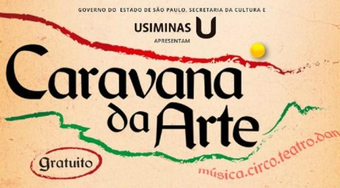 Caravana da Arte envolve praças do Casqueiro e Vila São José