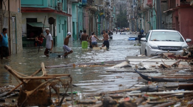 Após furacão, José Martí/BS promove festa solidária a cubanos