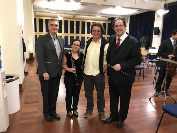 Clarinestista da Sinfônica de Cubatão vence concurso nacional