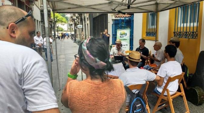 Noise Coletivo estreia nova produção no Clube do Choro de Santos