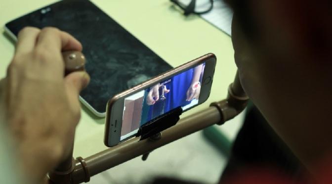Querô e Sesc Santos abrem inscrições para oficina de cinema com celular