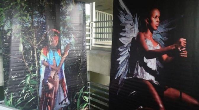 Centro de Cultura Patrícia Galvão recebe exposição 'Anjos Negros'