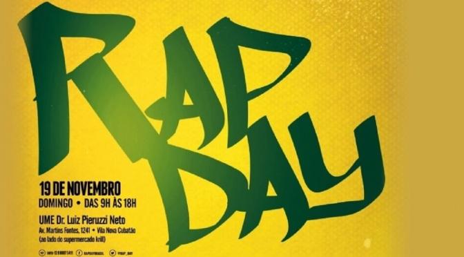17º Rap Day é realizado dia 19 em Cubatão