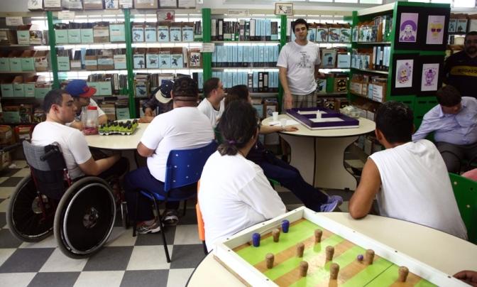 Virada Inclusiva com RPG Para Todos na Gibiteca de Santos