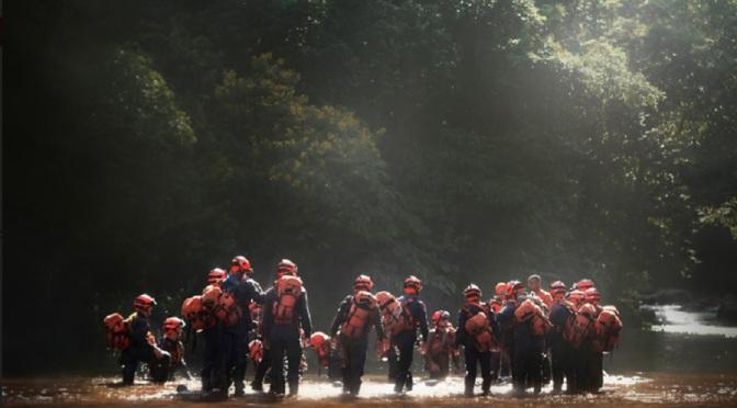 MISS recebe exposição sobre o cotidiano dos bombeiros