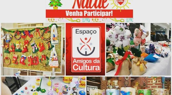 1º Bazar Cultural de Natal é realizado dias 16 e 17 em SV
