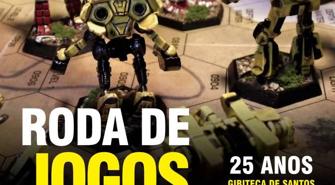 Roda de Jogos de RPG celebra os 25 anos da Gibiteca de Santos