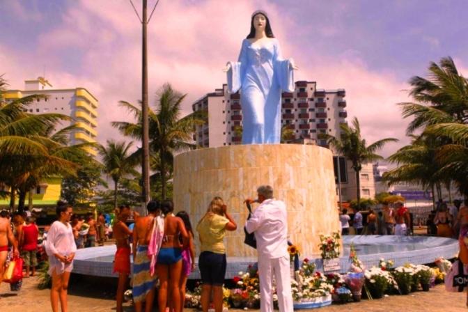 Festa de Iemanjá é foco em reunião na Praia Grande