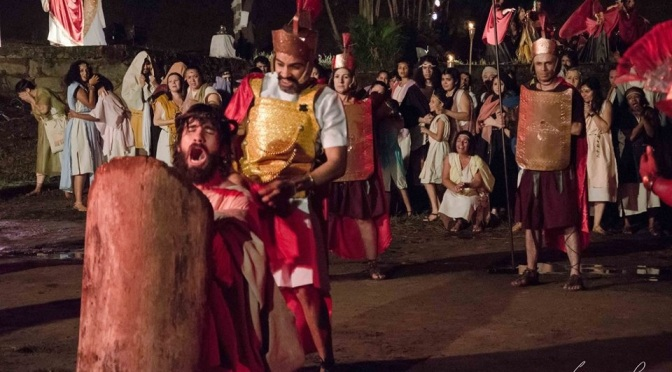 Dia 22 encerram as pré-inscrições para 50ª Encenação da Paixão de Cristo