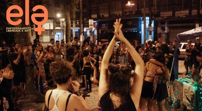 Centro de Santos é palco da festa 'A_front na Rua' neste sábado