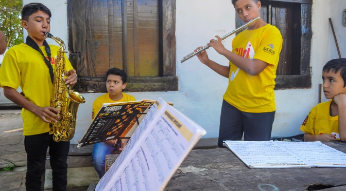 A partir do dia 28, Projeto Guri abre inscrições no polo de São Vicente