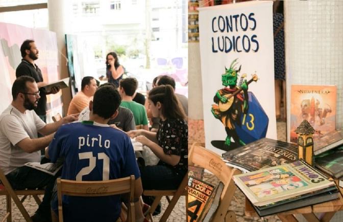 Projeto Contos Lúdicos realiza mais uma tarde de RPG na Gibiteca