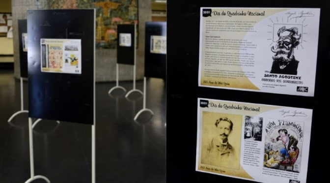 Mostra '150 anos de Nhô Quim' já está em cartaz no Paço Municipal