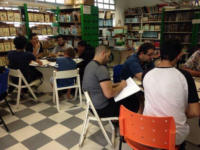 Na Gibiteca, Roda de Jogos realiza edição solidária em prol de MG
