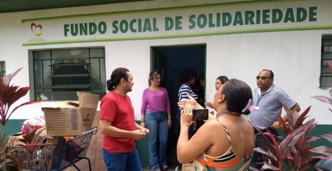 Artistas realizam evento solidário aos cubatenses prejudicados pela enchente