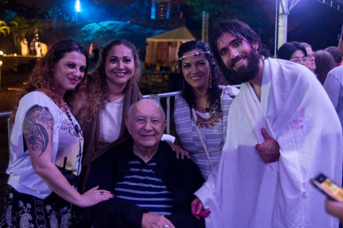 Sérgio Mamberti fará Herodes na 50ª Encenação da Paixão de Cristo de Cubatão