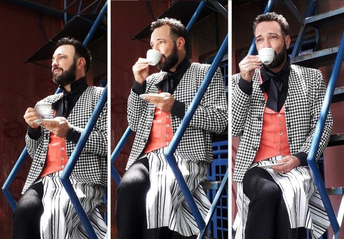 #ManufaturaDeMonólogos: Um chá com o público em 'A Pena de Wilde'
