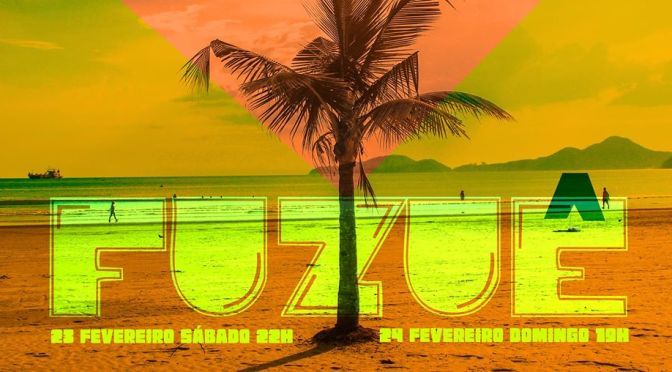 A festa 'Fuzuê' leva Rebolo e discotecagem neste fim de semana