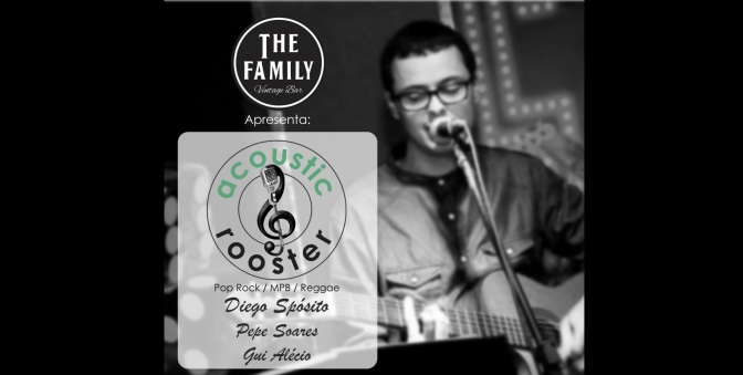 The Family Vintage Bar conta com Acoustic Rooster nesta sexta