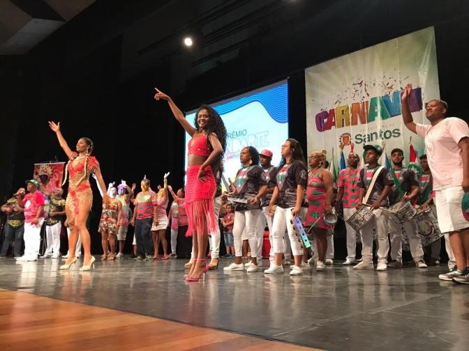 Homenagens marcam entrega do Prêmio Estandarte Santista 2019