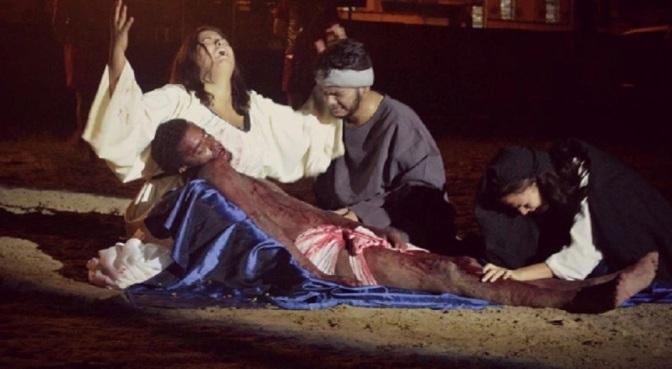Três tradicionais Encenações da Paixão de Cristo acontecem em São Vicente
