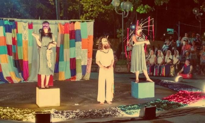 Em São Vicente, teatro de rua 'Via Dolorosa' entra em cartaz nesta semana