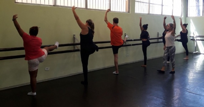 Projeto experimental de fit ballet 'Mova-se' tem vagas gratuitas em Cubatão