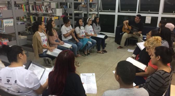 Encontrão conclui Oficinas Criativas no CEU das Artes de Cubatão