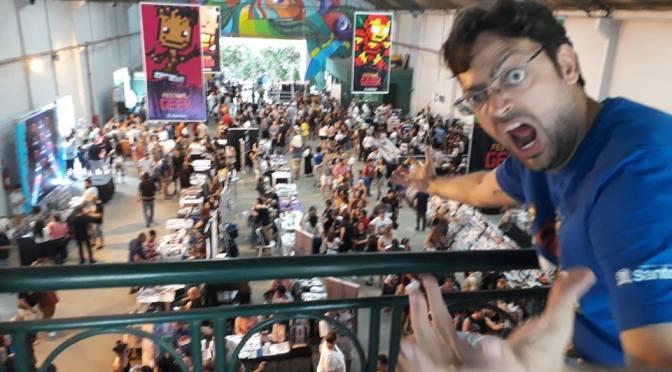 Gibiteca de Santos e Festival Geek concorrem no 35º Troféu Angelo Agostini
